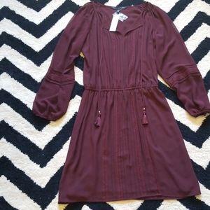 NWT White House Black Market boho soft dress